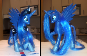 MLP:Custom Luna: by Rayne-Is-Butts
