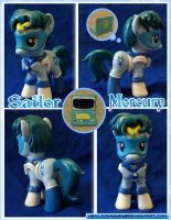 Sailor Mercury Pony by HeyLookASign