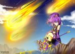 Arme and the Deep Impact | Grand Chase by YarickArt