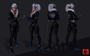 BlackCat Full Body by GhoulBiz