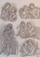 Sketchpage comm - Katy and Lawton by Nike-93