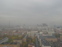 Tower challenge - Moscow, 300 meters above by nikitakartinginboxru