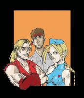 Street Fighters by nenerocks