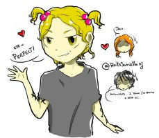 Pigtails and Herondale by RoItsSomething