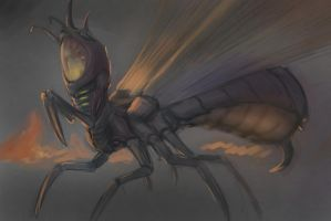 Insect WIP by Theocrata