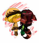 AT.:a little kiss:. by cutyhtf