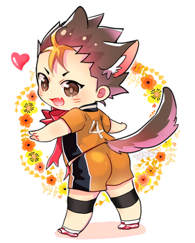 Nishinoya by wish114