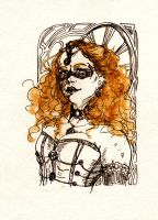 Masquerade Lady Wildfire... by BlueMillenium
