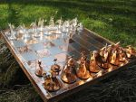 Chess Set of Dragons by obiskus