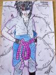 Sasuke Uchiha ( Rinnegan ) by stipe320
