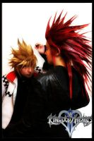 Axel and Roxas Overpowering by Arekisu-neko