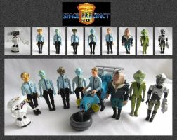 Space Precinct Toys by mikedaws