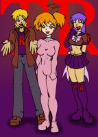 New Team Rocket Mascot by CrazyCowProductions