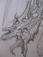Slifer The Sky Dragon Head by drgknot