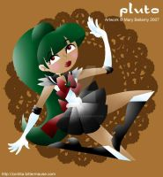 FA Sailor Pluto Cut Out Style by MaryBellamy