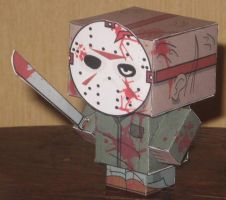 Jason Cubee by paperart
