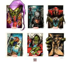 Marvel heroes and villains 3 by MelikeAcar
