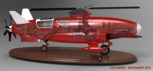 Single rotor, high speed by CUTANGUS