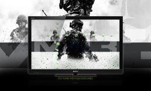 Call Of Duty : MW3 PS3 Theme by DesignsByTopher