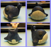 Clay Whale by CatCowProduce