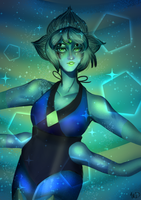 Sodalite -Fanmade Fusion by frogbun