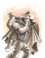 Shadow vs Wolfman - Boatwright by TheDeviantMakepeace