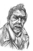 John Hurt (Time war Doctor) by Methiston