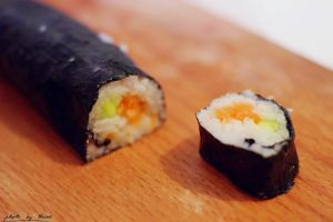 Sushi roll 107_366 by eugene-dune