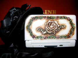 Antique Rose DS Cover by midori-no-ink