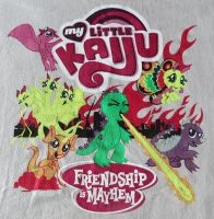 My New Fave T-Shirt!  My Little Kaiju by Legrandzilla