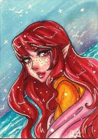 ACEO: Sea spray by Roots-Love