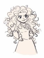 Merida Sketch by Kiome-Yasha