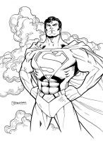 Superman by guinnessyde