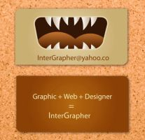 Business Card 6 by InterGrapher