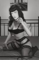If I were Bettie Page... by akrialex