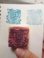 Coat-of-Arms Stamp by phraxos