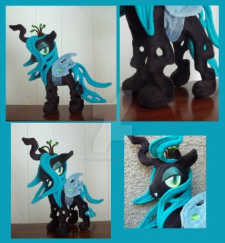 Sold - Queen Chrysalis Plush by chibiansem02