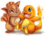 Tickle the Charmander by Deruuyo