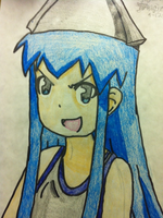Squid Girl by BrokenDeadMemories