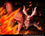 .:Art-Trade:. Forest Fire by SEGAmastergirl
