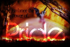 Seven Deadly Sins Contest: Pride by 4thElementGraphics
