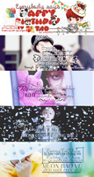 02052014 Happy Birthday my Huang ZiTao cover by Kr137