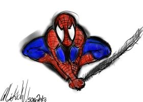 Amazing Spiderman by gonegonetheformofman