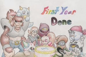 My First Anniversary by ssbbforeva