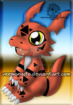 Guilmon by Veemonsito