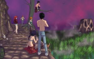 YYH COLLAB: Backpacking The Makai by Enjoumou