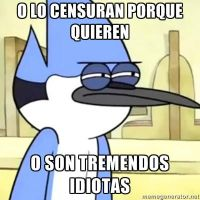 Mordecai vs la censura by invasordib