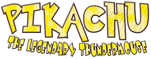 Pikachu The Legendary Thundermouse Logo by KingAsylus91