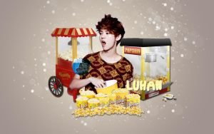 Luhan Popcorn (Men Health) by KpopGurl