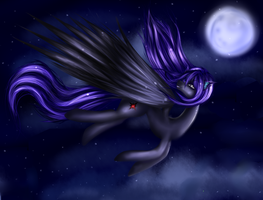 Moonlight Flight {Trade} by FluffyMaiden